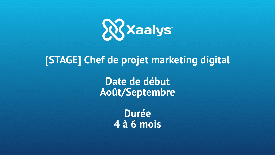 [STAGE] Chef de projet Marketing Digital