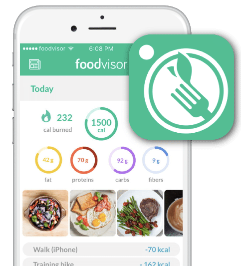 applications qui simplifient la vie : foodvisor