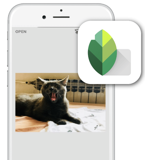 applications qui simplifient la vie : snapseed