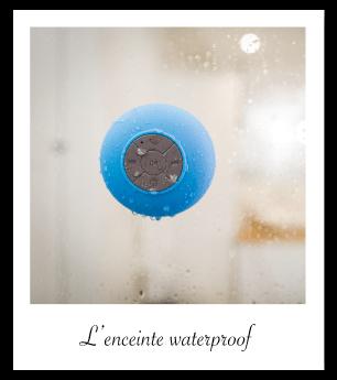 Idée cadeau : enceinte waterproof
