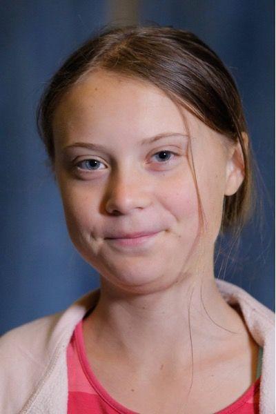 Portrait de Gretha Thunberg